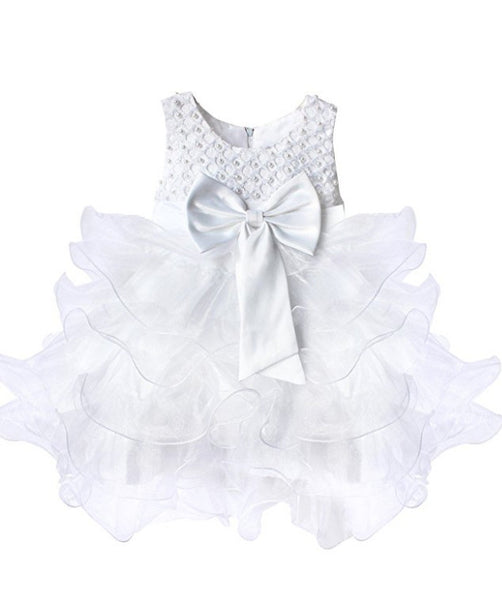 Baby Girls Ruffle Flower Girl Dress