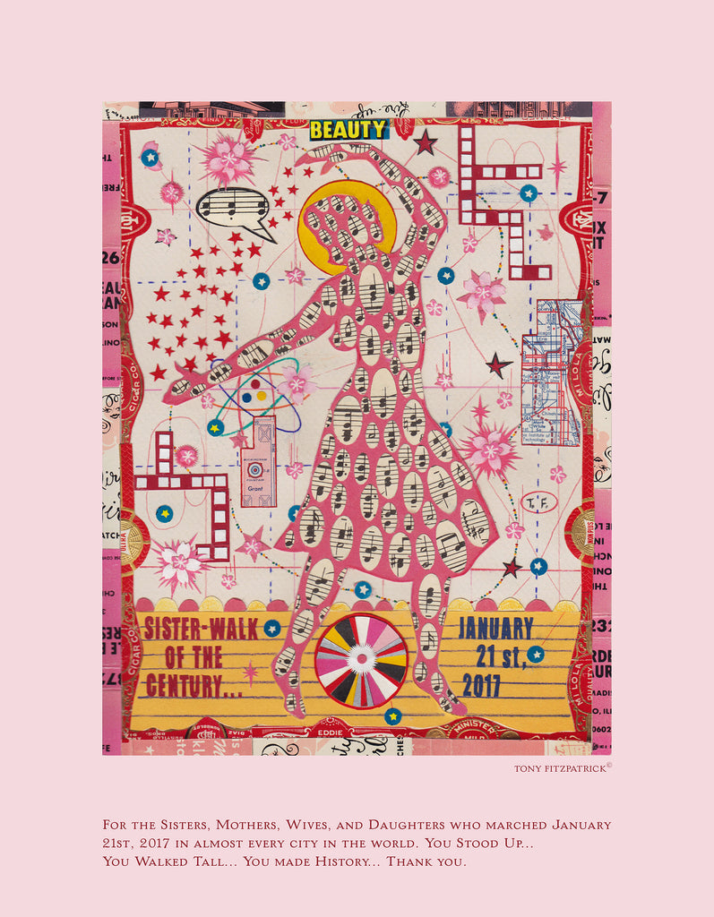 Sister Walk of the Century<br>Tony Fitzpatrick Poster Signing