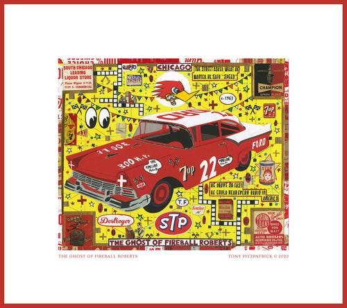 The Ghost of Fireball Roberts Poster