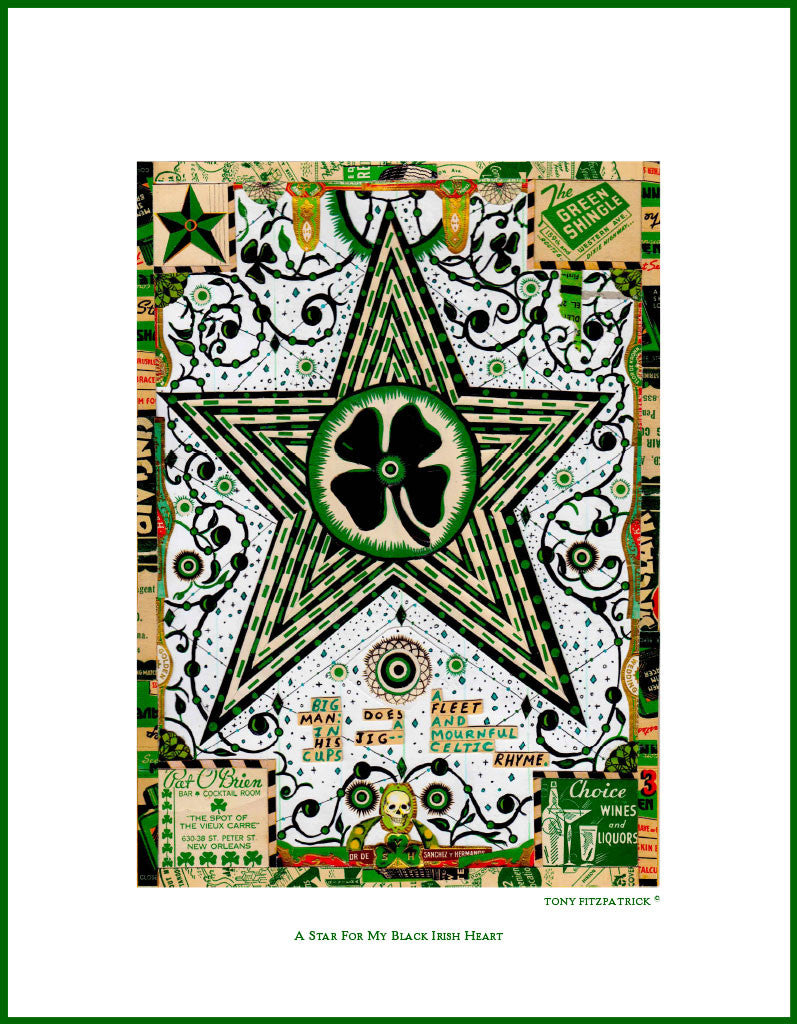 A Star For My Black Irish Heart - Tony Fitzpatrick