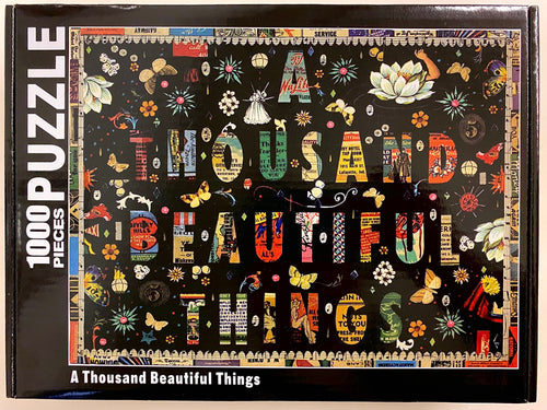 A Thousand Beautiful Things Puzzle