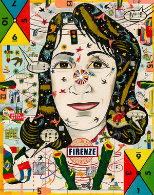 Michele In Florence - Tony Fitzpatrick