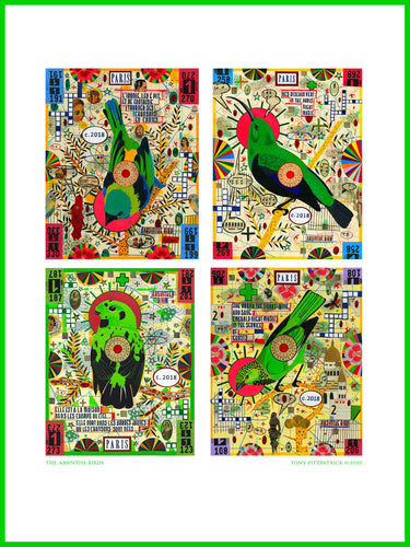 The Absinthe Birds Poster