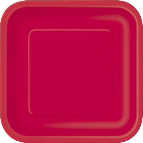 16-ruby-red-18-cm-square-plates