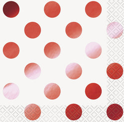 16-red-dots-foil-stamped-beverage-napkins