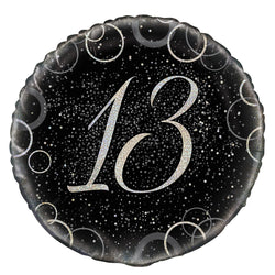 46cm-packaged-black-prismatic-13-foil-balloon