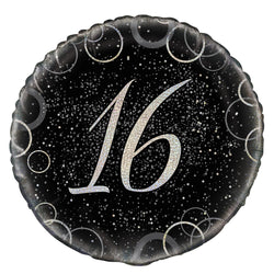 46cm-packaged-black-prismatic-16-foil-balloon