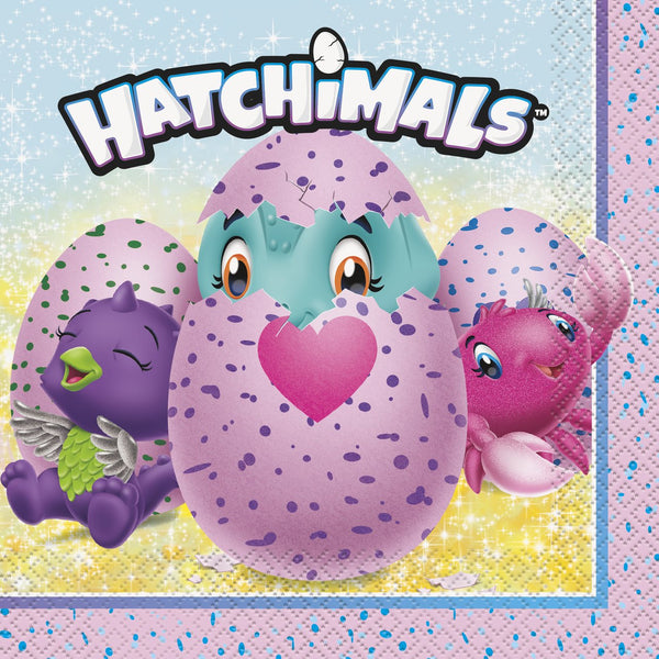 16-hatchimals-lunch-napkins