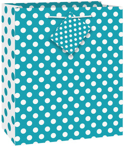 caribbean-teal-dot-giftbag-medium