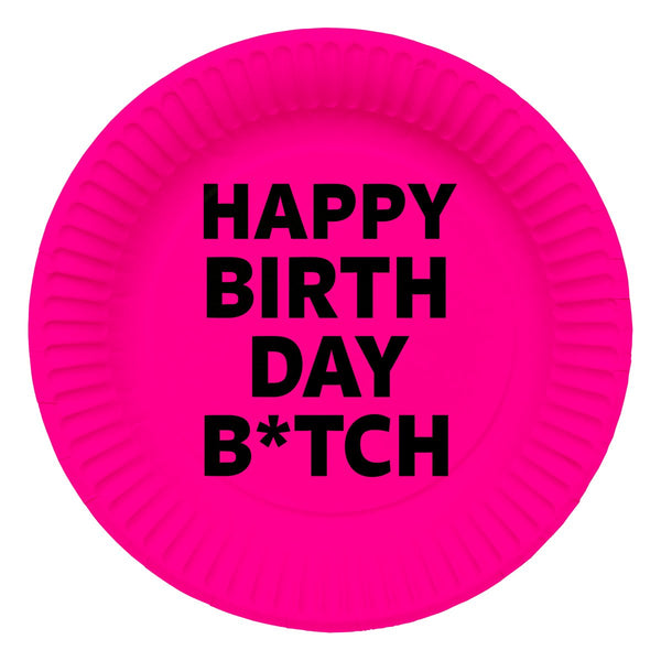 plate-23-cm-happy-birthday-b-tch