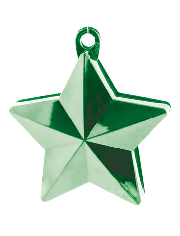 balloon-weight-star-shape-green