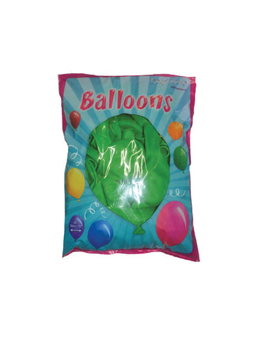 balloons-30cm-bag-with-100pcs-green