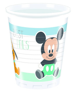 8-infant-mickey-plastikk-kopper-200-ml