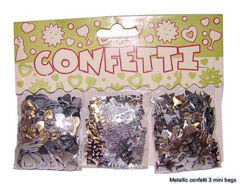 confetti-table-decoration-just-married-silver
