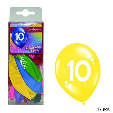 12-balloons-30cm-number-10-asst-colors