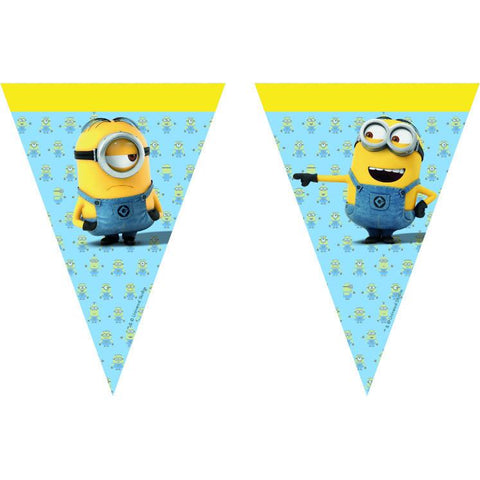 lovely-minions-flagg-banner