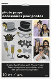 Photo Booth Props Fotoboks - Jazzy New Year - 12pk