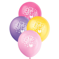 Ballonger - it's a Girl - Babyshower - 30cm - 8pk