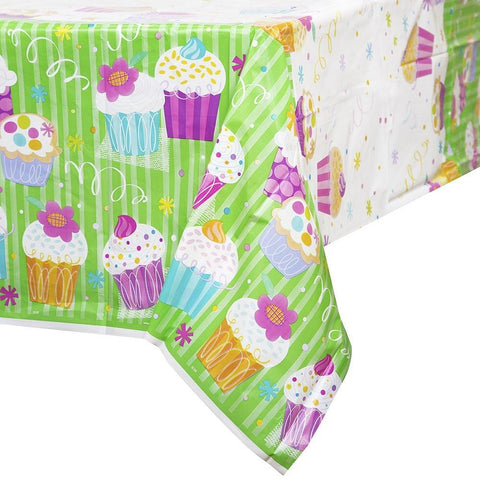 Plast Bordduk, Cupcake Party - 137x214cm