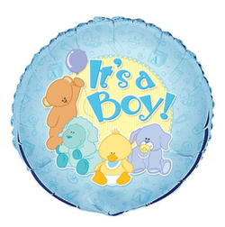 folieballong-baby-shower-its-a-boy-pynt-blå-gutt-festogmoro.no