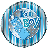 folieballong-tåteflaske-baby-shower-its-a-boy-pynt-blå-gutt-festogmoro.no