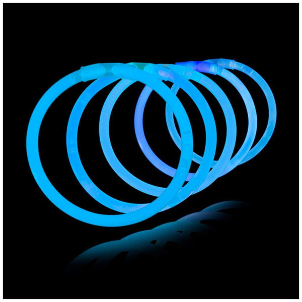 glow-stick-glowsticks-norge-party-fest-neon-100pk-blå-festogmoro.no