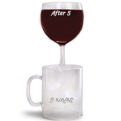 morsom kaffekopp vinglass - before and after 5 - festogmoro.no
