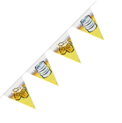 Flagbanner - Oktoberfest Beerparty - 6m