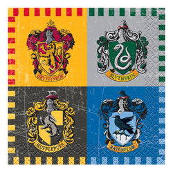 Servietter, Harry Potter - 8pk - Barnebursdag - festogmoro.no