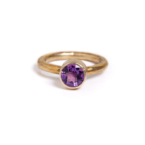 Ring - Antika - Small Stone Amethyst
