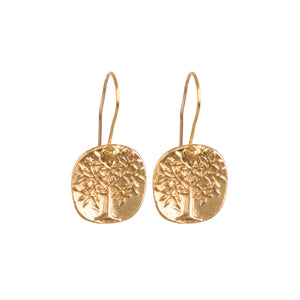 Earrings - Antika - Geo Tree of Life - Beksan Designs
