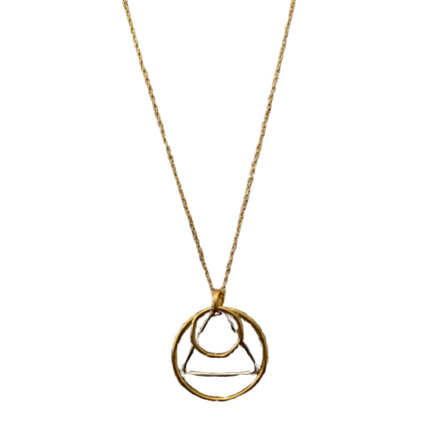 Necklace - Antika - Geo Overlapping Circles