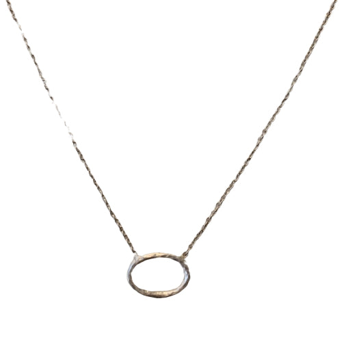 Necklace - Antika - Circle of Life Silver