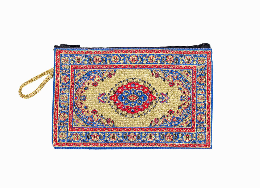 Coin Purse - Small Red & Blue