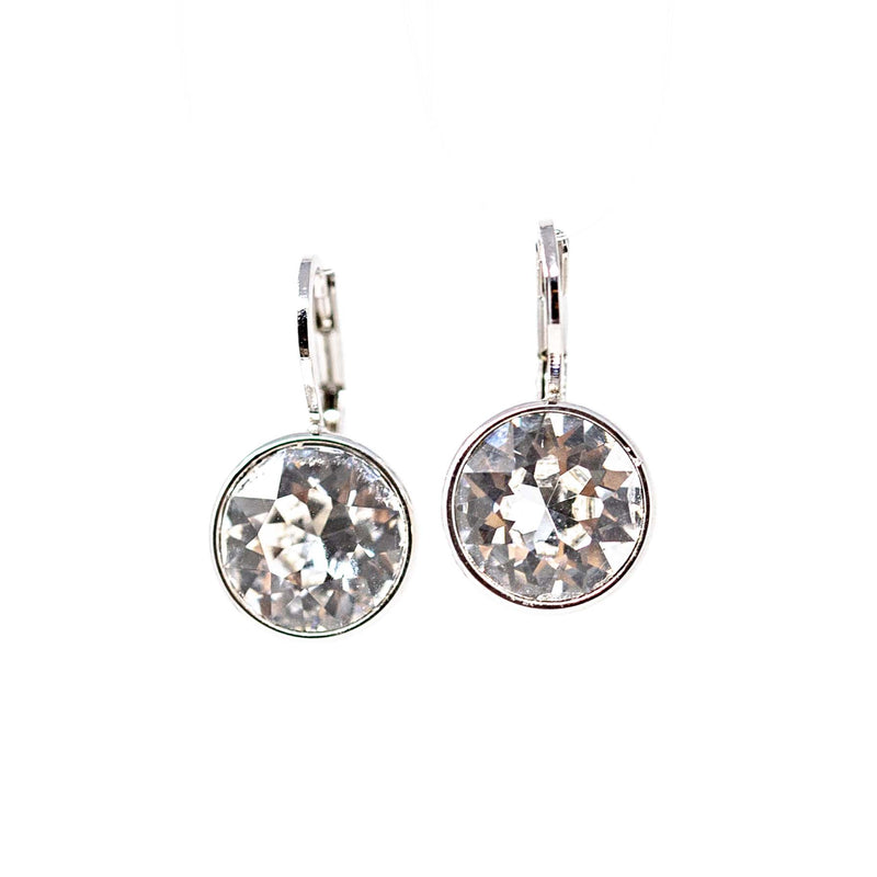 Earrings - Crystal - Set in Silver