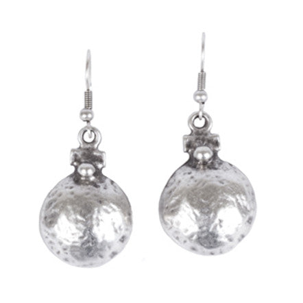 Earrings - Zinc/Silver - Dome - Beksan Designs