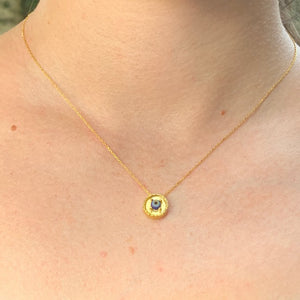 Necklace - Antika -  24k Gold Vermeil & Evil Eye