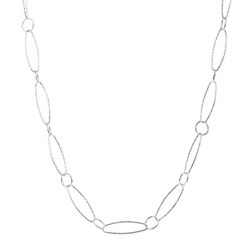 Necklace - Silver - Link Chain - Beksan Designs