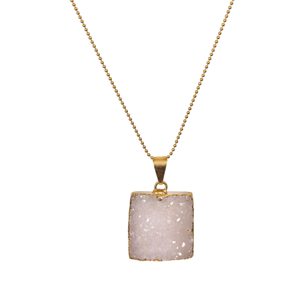 Necklace - Antika - Druzy - Beksan Designs