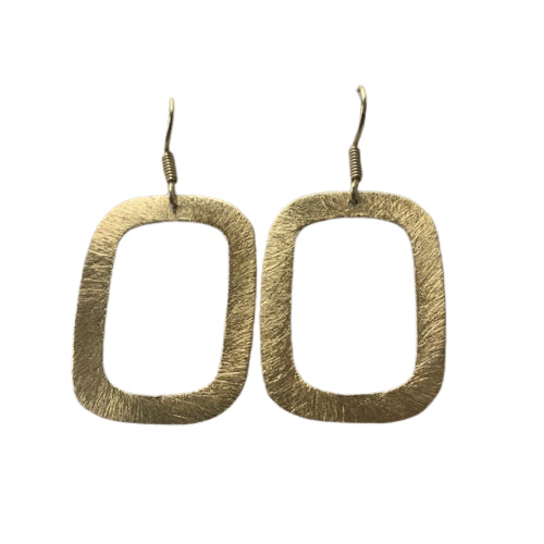 Earrings - Antika - Geo Rectangle