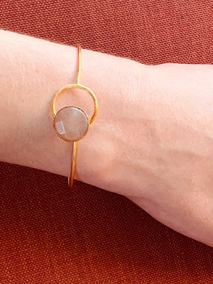 Bracelet - Antika - Hook & Eye Rose Quartz