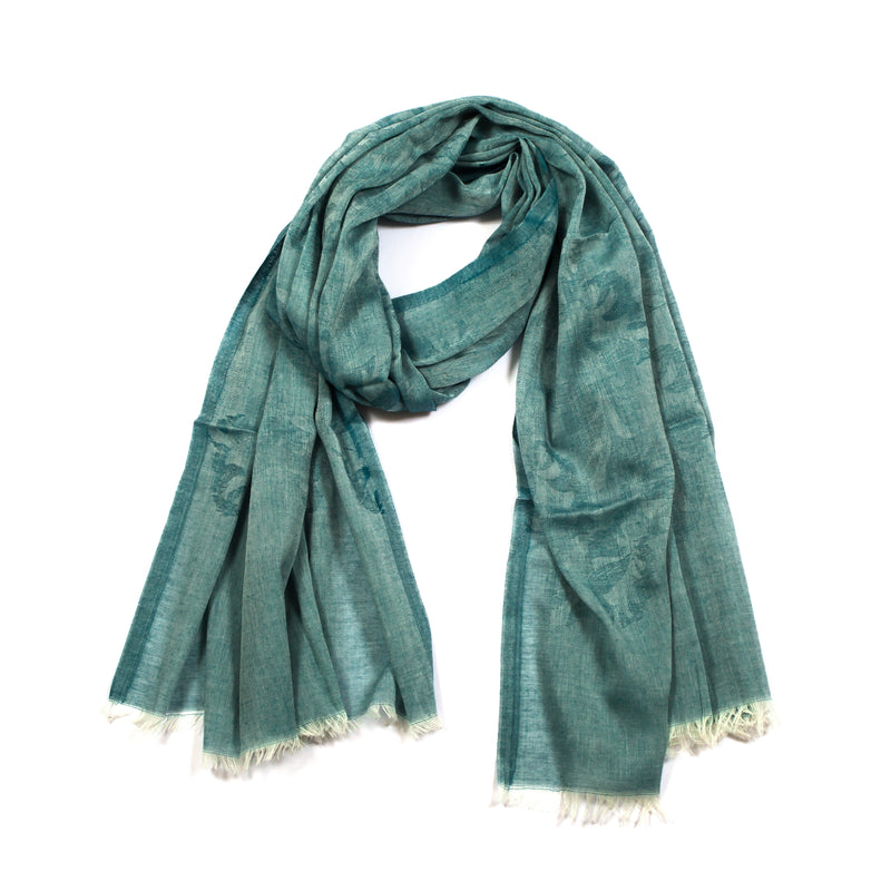 Scarf - Cotton - Green