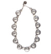 Necklace - Zinc/Silver - Disc - Beksan Designs