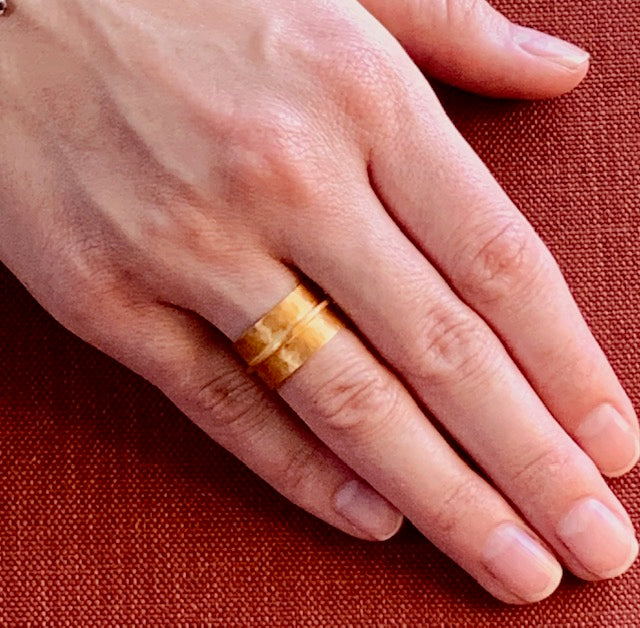 Rings - Antika - Gold Band (available in size 6 only)