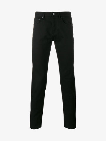 Givenchy Slim Fit Star Patch Jeans