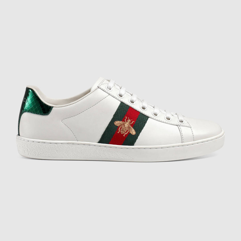 4996d8c063f Gucci New Ace bee-embroidered trainers – Sir Frederik
