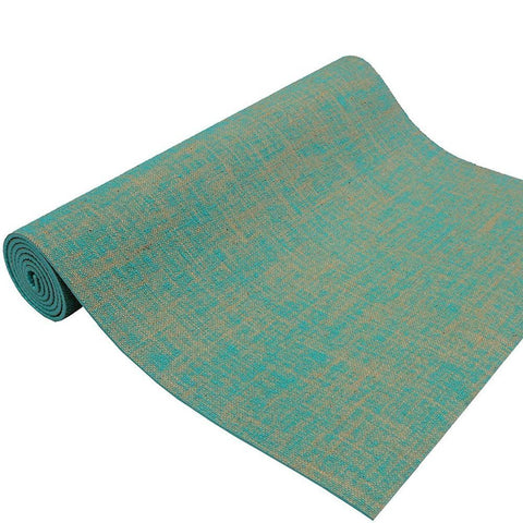 ROMIX Thick Yoga Mat, Eco Friendly Premium Quality Jute Fibres Reversible Non Slip