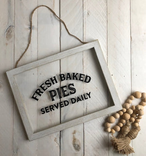 Farmhouse Decor Framed Signs and Chalkboards