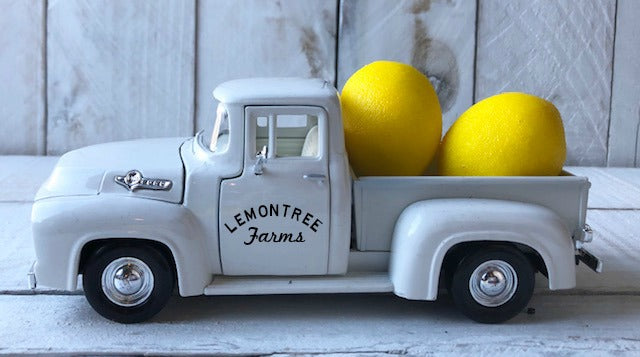 Personalized Lemon Truck, Lemon Truck, Lemon Decor, Personalized Truck, Farm Truck,