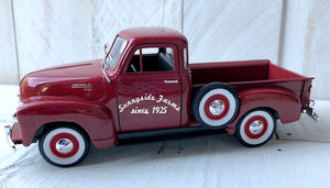 Personalized Red Farm Truck, Farmhouse Truck, Little Red Truck, Personalized Truck